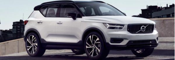 The 2019 Volvo XC40 crossover SUV