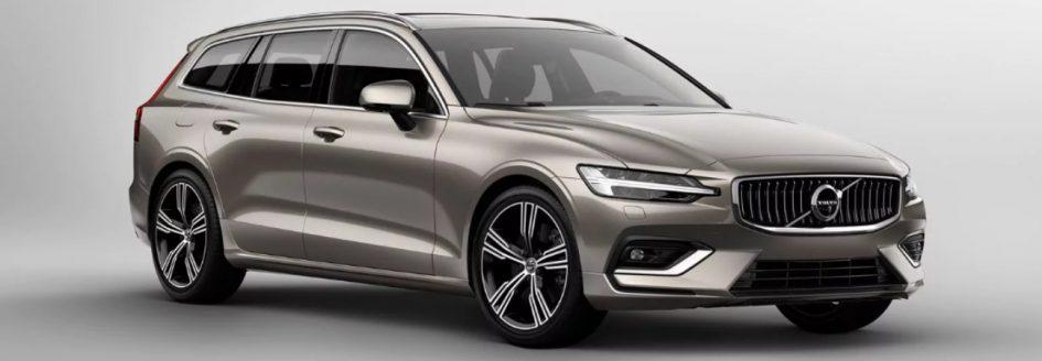 Silver 2019 Volvo V60